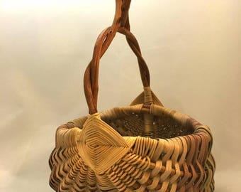 Vintage wicker basket.