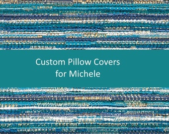 Custom Pillow Covers for Michele
