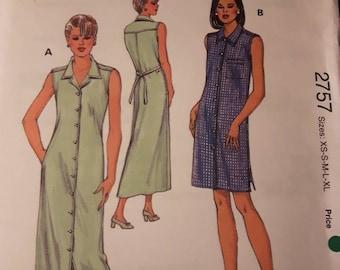 Kwik Sew 2757, Women's Dress Pattern