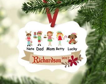 Personalized Christmas Ornament - Family Christmas Ornament - Custom Photo Ornament - Funny Christmas Ornament - Custom Holiday Decor