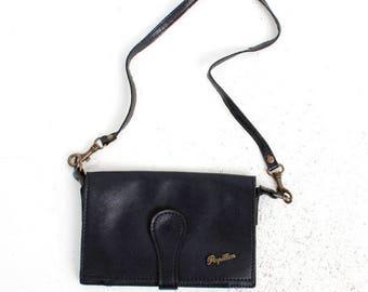 25% OFF Papillon Purse / Papillon Bag / Black Leather Purse / Small Leather Purse / Woman Purse / Black Purse / Vintage Purse