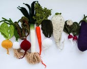 Custom set of vegetables
