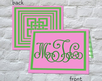 KISS(Keep It Simple Stationery)  Folded Notes
