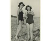 Italy, 1950s : Vintage Snapshot Photo RPPC [85672]