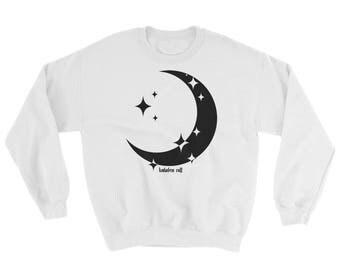 Moon Crewneck Sweatshirt