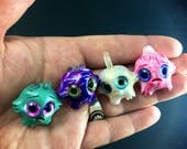 Crystal Worry Warts set // anxiety worry doll cute meditation relaxation therapy depression mental health