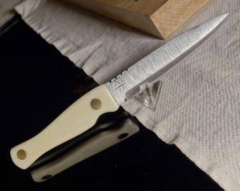 Scottish Highlander Knife Sgian Dubh Hand Forged Boot Knife