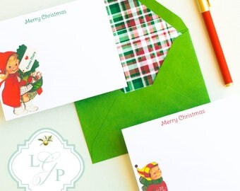 Santa Letter | Santa Letter Package | Christmas Stationary | Christmas Stationery | Christmas Notecards | Christmas Note Cards