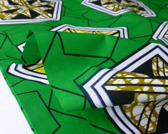 FAT QUARTER Block Wax Print Cotton Fabric For Dressmakings/Tribal Fabric,Sewing Fabrics Kitenge
