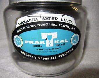 Vintage vaporizer humidifier vintage Praktkal vaporizer small room humidifier