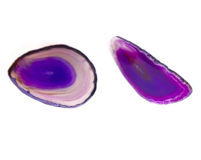 Purple Agate Handle--Purple Agate Knob--Agate Hardware