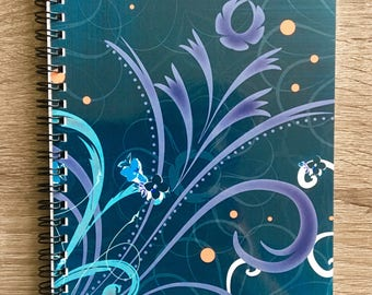 "Notebook with Original Art ""Kalenchoe Blooms"""
