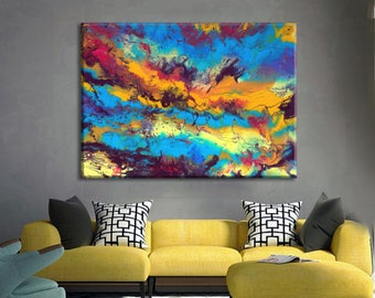 office artwork canvas. office artwork extra large wall art canvas abstract painting resin