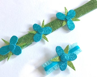 POPPY Headband, TROLL Party Favors, Poppy Headband and Bracelet