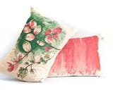 Ice cream bush and Candyfloss watercolor cushions