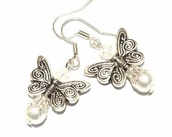 Charm butterfly boho women earrings