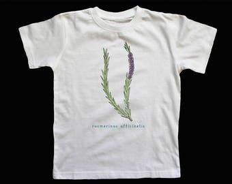 Rosmarinus Officinalis T Shirt