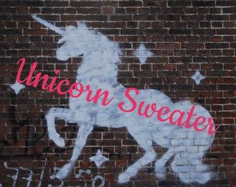 Elf Unicorn Sweater