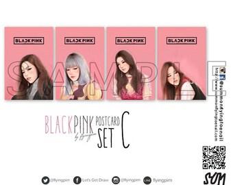 Blackpink @flyingpim Set C Postcard Set (Got permission from @flyingpim already)