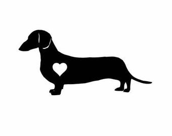 Dachshund Dog Vinyl Decal | Pets Dogs Decal  | Dachshund Dog Vinyl Decal  Dachshund Dog Vinyl Decal decal