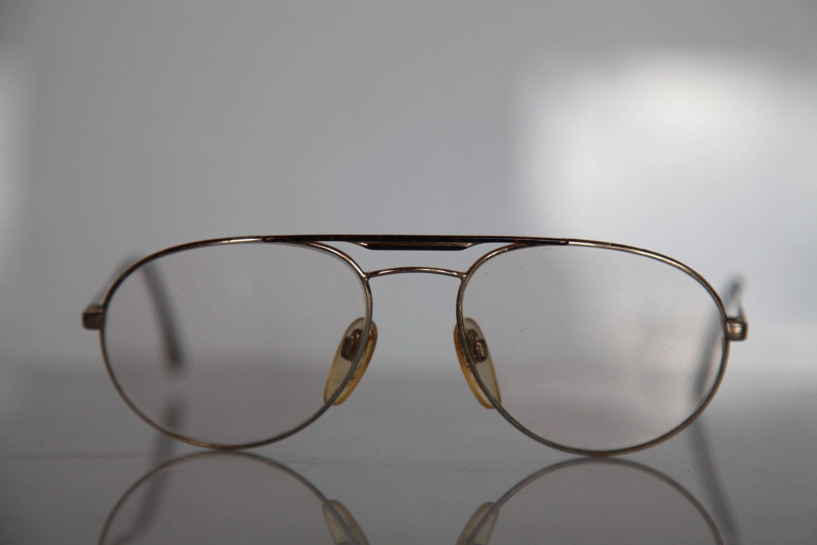Vintage RODENSTOCK SASCHA Eyewear, Gold Aviator Frame, Rx-Able ...