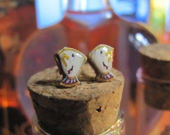 Earrings Zip/Zip OR Zip/Mrs Samovar