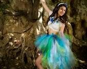 Adult high low tutu skirt fairy tutu costume halloween tutu pixie tutu costume edc edm rave festival outfit tutuhot tutu hot sewn tutu