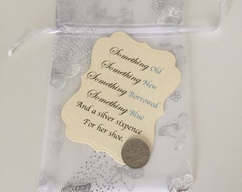 Sixpence bride gift