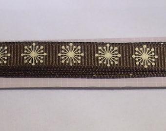 Rayher Brown Ribbon flower 90cm creating jewelry, scrapbooking