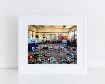 Children's Playroom - Urban Exploration - Fine Art Photography Print