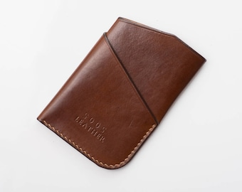 Beluga Card Case - Walnut