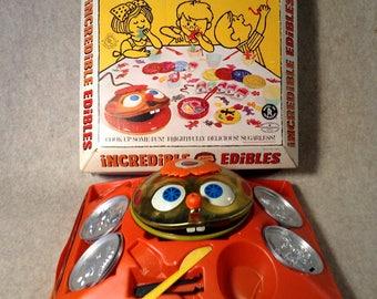Vintage Mattel Incredible Edibles - Cook Up Some Fun - 1966 Toy