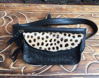 Mahi Festival Belt ,Leather,gypsy bag,boho bag, holster hipster bag