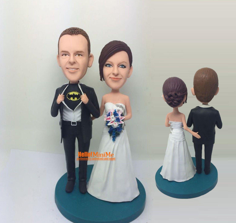 batman wedding cake topper wedding topper batman bobblehead. Black Bedroom Furniture Sets. Home Design Ideas