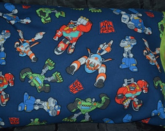 Rescue Bots Travel Size Pillow and Pillowcase