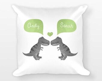 T Rex Pillow Etsy - T rex bed