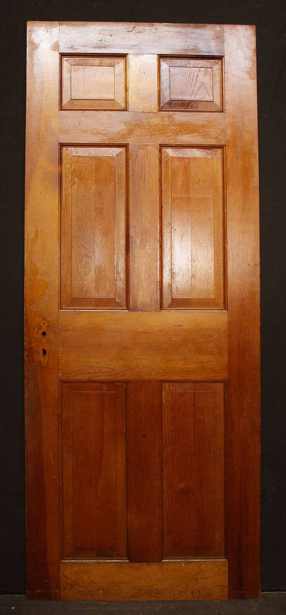 "Wooden Internal Doors With: 2 Avail 30""x76"" Antique Vintage Colonial Solid Wood Wooden"