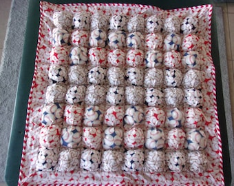 Baby Puff Blanket/Bubble quilt Baseball