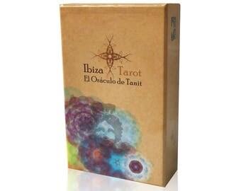Tarot Box - El Oráculo de Tanit - Tarot Gift - Spiritual Cards - Art Tarot - Divination Tool - Tarot Cards - The oracle of Tanit (Spanish)