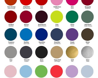 """SISER EASYWEED HTV 15"""" x 3 ft rolls Cameo Cricut 37 colors"""