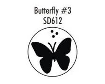 Stock Clay Butterfly #3  (SD612)