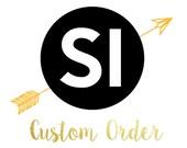 8x Custom Decals
