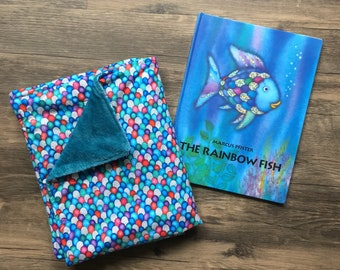 Rainbow Fish • Toddler Throw