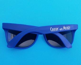Disney Cruise Gift - Adult Sunglasses - Cruisin' with Mickey - Lightweight - Disney Cruise Fish Extender Gift - DCL FE Gift