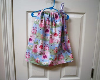 Princess Pillowcase Dress size 6 to 12 Months