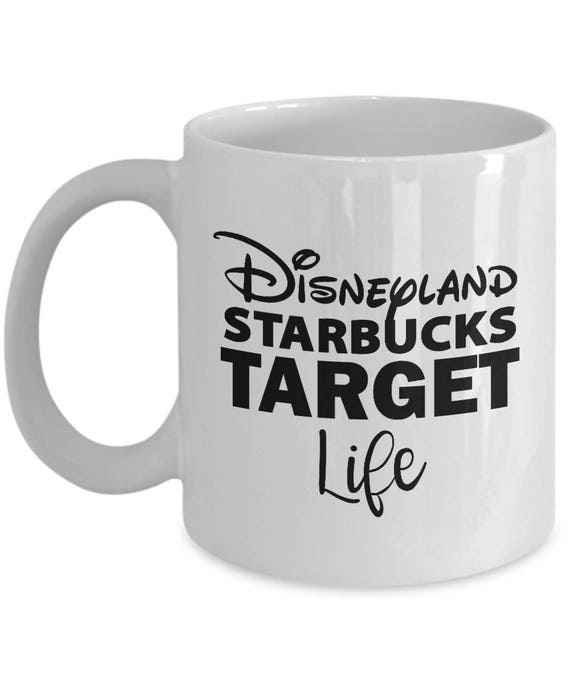 Disney Starbucks Target Life Mug Gift Disneyland Love Favorite