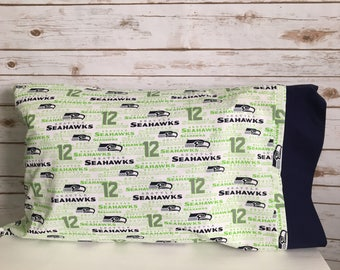 Seattle Seahawks 12th man pillowcase
