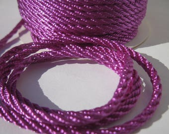 1 meter of cotton yarn braided 3 mm thick (169)