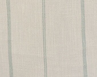 """Ticking Stripe Linen Curtains, Farmhouse, Grain Sack, Richloom, Rustic, Bedroom, Living Room, Kitchen,  24"""" or 52"""" Wide, Color: Oatmeal  Spa"""