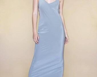 BRIDESMAIDS DRESS | Custom Options | Tie Sash | Neckline Options | Side Slit | Gorgeous Pure Silk Fabrics